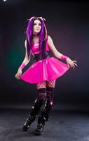 bright pink by MysteriaViolentStock