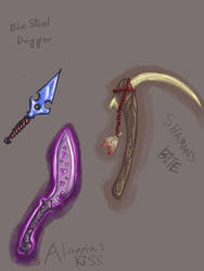 Weapons by kakita
