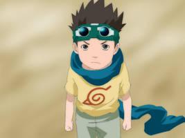 Naruto:Konohamaru Colored Yeay by Warbaaz1411