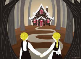 Hansel and Gretel by Schlissel-art