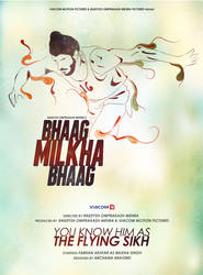 Fan Art Poster- Bhaag Milkha Bhaag by archys187