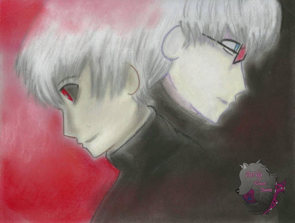 Kaneki y Arima FANART by Kanon-Juarez019