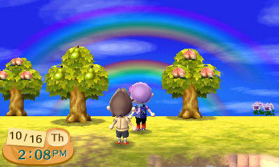 A Double Rainbow by gomamon2003