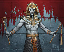 Dark Pharaoh by PatrickMcEvoy