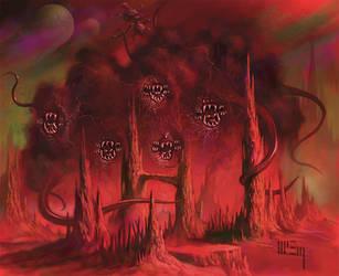 Shub-Niggurath by PatrickMcEvoy