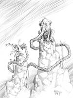 Snout Creature Commission by PatrickMcEvoy