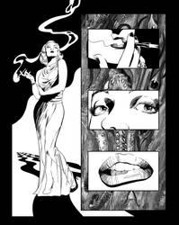 Casefile: Arkham chapter 1 pg 10 by PatrickMcEvoy