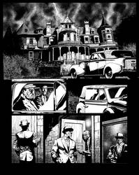 Casefile: Arkham - Her Blood Runs Cold, page 2 by PatrickMcEvoy