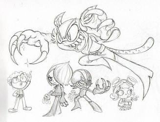 Sketchy El Tigre by Count-Conch