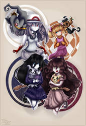 [Crossover]Ghosts, Ghosts Everywhere by Gartendrache