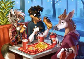 Friends meet by multyashka-sweet