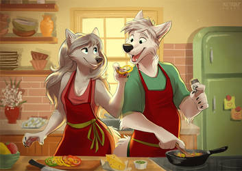 Cooking together by multyashka-sweet