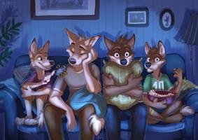 Movie night by multyashka-sweet