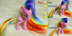 Sunshiney Rainbows by flarewingpwny