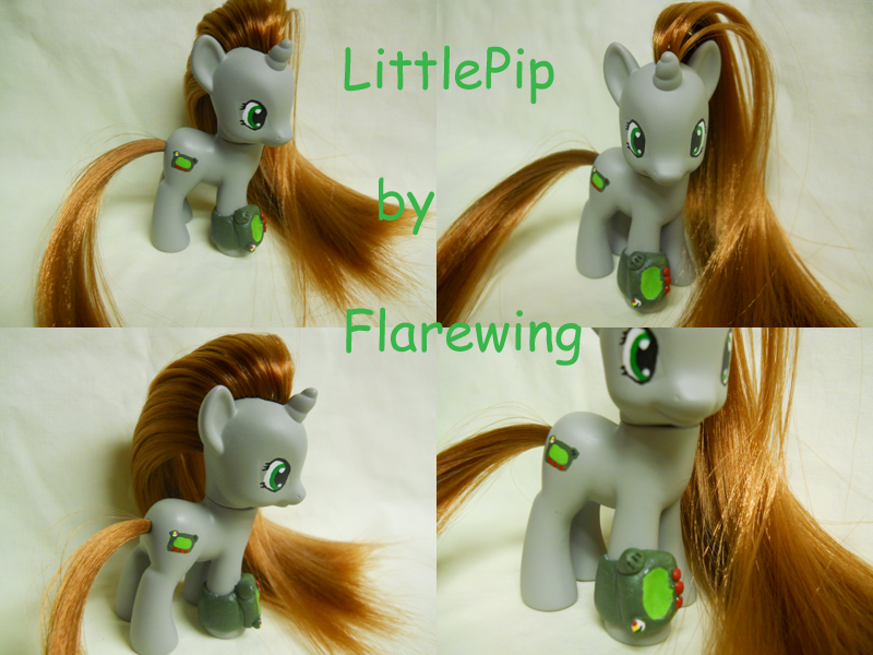 FoE LittlePip by flarewingpwny