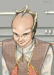 Intergalactic headbutt champ. by Kumoashi