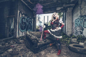 HarleyQQ by ambientgray