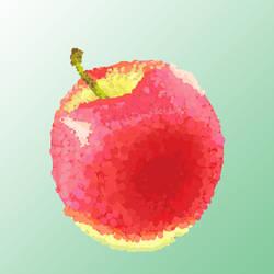 Apple Digipaint by Fliyer