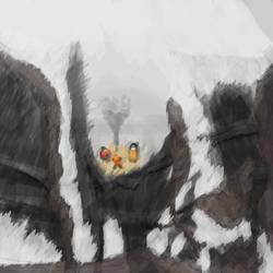 The Cruel Mountain Side by Fliyer
