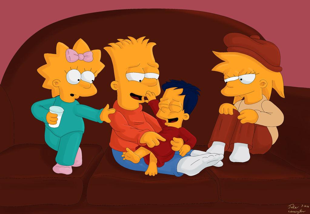 Simpsons On Next Generation Kids Deviantart
