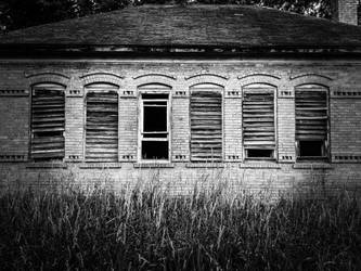 Windows: Schoolhouse by simpspin