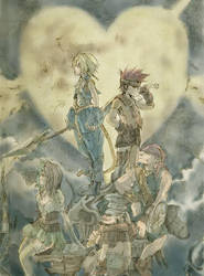 Final Fantasy Kingdom Nine by NekoZidaneTribal