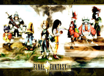 Final Fantasy IX Wallpaper by NekoZidaneTribal