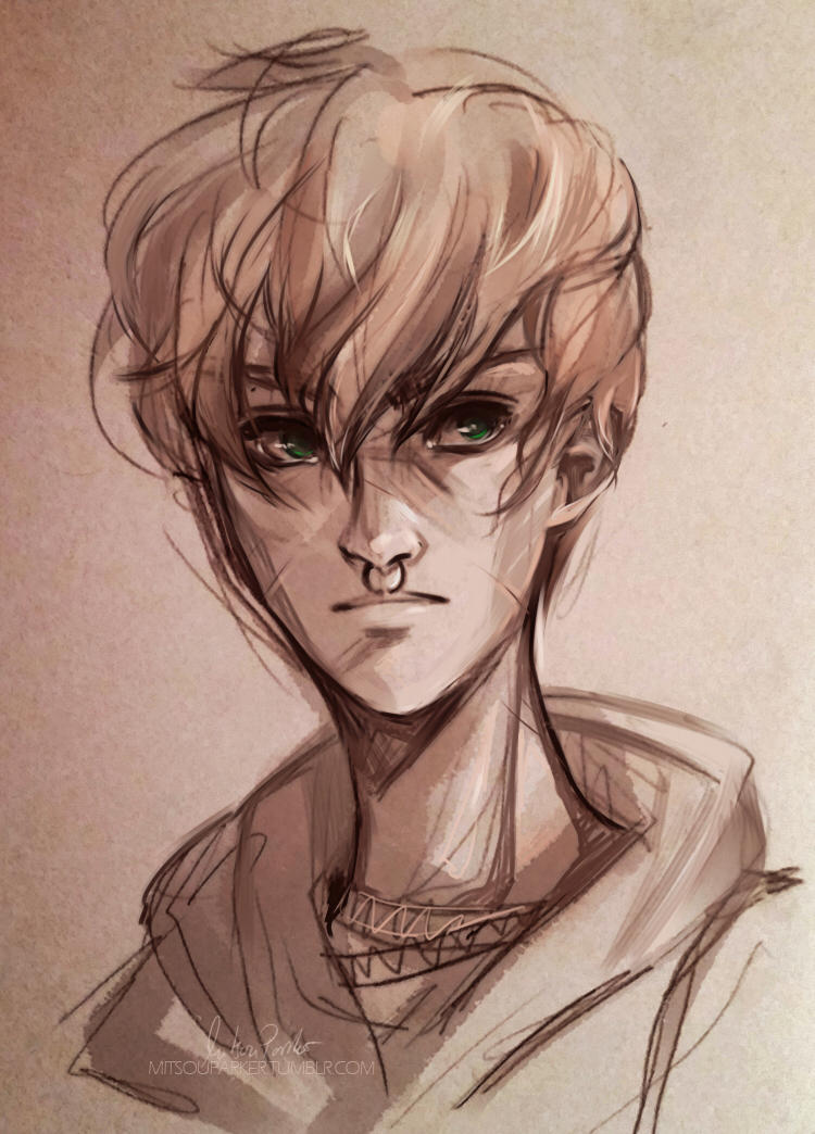 Young Remus Lupin | Speedpaint by MitsouParker