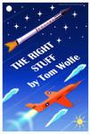 The Right Stuff Book Cover by Fad-Artwork