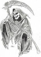 Grim Reaper by Spiffy-Kitsune