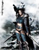 Warrior by whiteravenimages