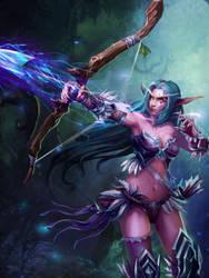 Elf Archer by robekka