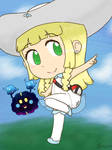 Nebby and Lillie by DrizzleDaydream