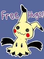 Mimikyu Hug! by DrizzleDaydream
