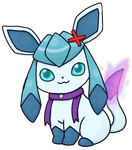 Drizzle the Glaceon by DrizzleDaydream