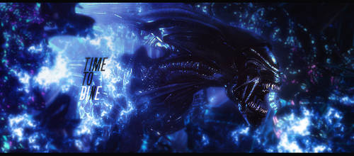 Time to DInE - Alien Signature by Stray-Arrows