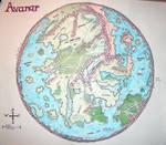 Avanar Map by Mistgod