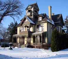 A fancy house in Wisconsin by Mistgod