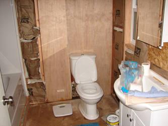 bathroom in progress by Mistgod
