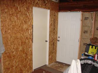 Doors in cabin by Mistgod