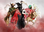 The Four Horsemen by EmegE