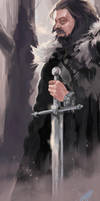 Ned Stark by EmegE