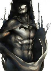 The Dark Knight by EmegE
