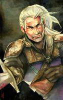 Geralt de Rivia-Witcher2 by EmegE