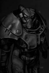 Enclave X-01 Speedpaint - Fallout 4 Version by DrVauclair