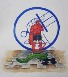 Hellboy  by Licantropo82