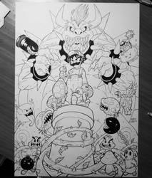 Super Mario  by Licantropo82
