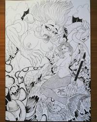 Ariel  by Licantropo82
