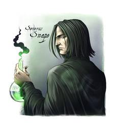 Severus Snape by HitoFanart