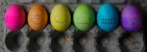 Coloured Egg Emotion by xfallxoutxgirlsx